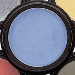 Sombra de ojos en crema color azul cielo