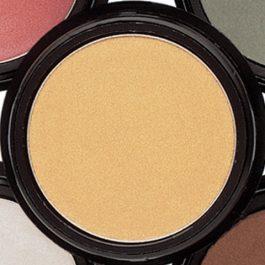 sombras de ojos en crema color dorado