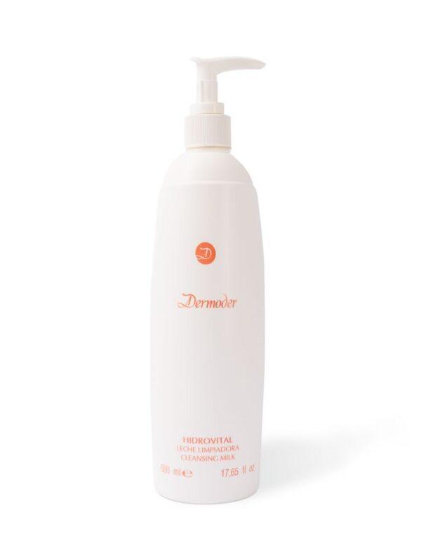 leche limpiadora para pieles mixtas hidrovital